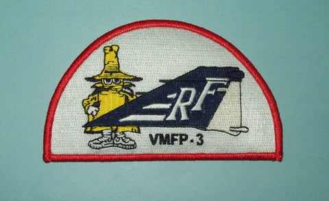 USMC VMFP-3 TACTICAL RECONNAISSANCE SQUAD PHANTOM TAIL MILITARY PATCH - SPOOK