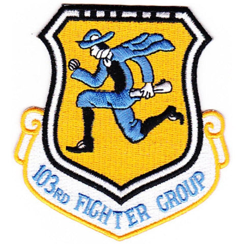 103rd Fighter Interceptor Group 1960's Vietnam Era Flying Yankees Military Patch