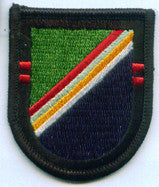 ARMY 2nd BATTALION 75th RANGER REGIMENT MILITARY PATCH FLASH
