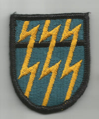 12th Special Forces Group Beret Flash Patch  MILITARY PATCH