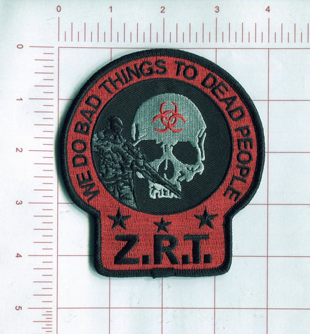 Z.R.T. ZOMBIE RESPONSE TEAM VELCRO PATCH