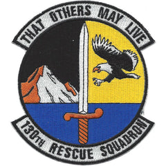130th RESCUE SQUADRON 130 RQS THAT OTHERS MAY LIVE Military Patch