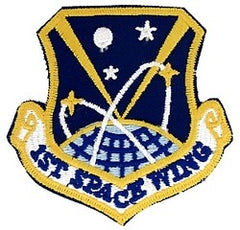 1st SPACE WING AIR FORCE MILITARY PATCH - COLOR