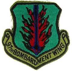 97th BOMBARDMENT WING AIR FORCE MILITARY PATCH - SUBDUED