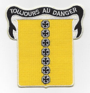 AIR FORCE - 17th BOMBER GROUP MILITARY PATCH TOUJOURS AU DANGER