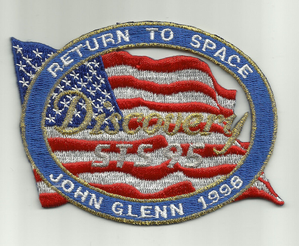 Image result for john glenn returned to space in 1998