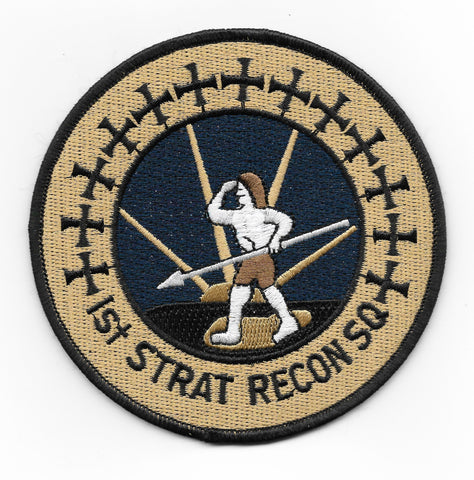 1st Strategic Reconnaissance Squadron Air Force Military Patch 1st STRAT RECON SQ