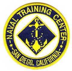 NTC Naval Training Center San Diego, California Military Patch