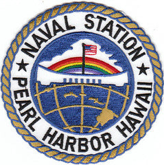 US Naval Station Pearl Harbor Hawaii Military Patch