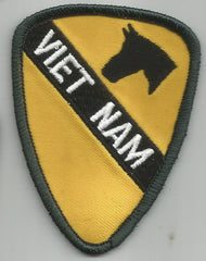 ARMY - 1st CAVALRY VIETNAM MILITARY PATCH