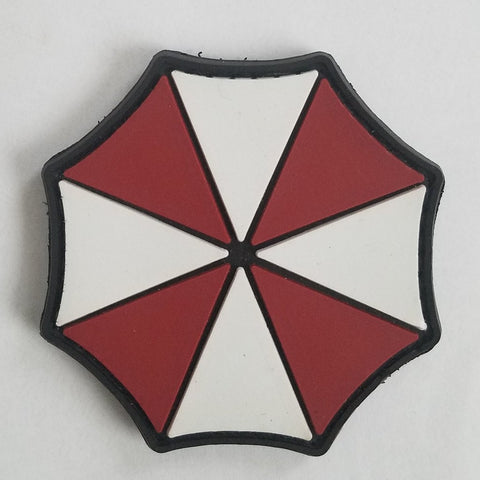 RESIDENT EVIL UMBRELLA ZOMBIE TACTICAL COMBAT BADGE PVC VELCRO MILITARY MORALE PATCH