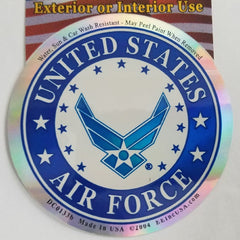 UNITED STATES AIR FORCE LOGO STICKER