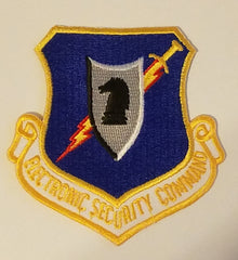 ELECTRONIC SECURITY COMMAND AIR FORCE MILITARY PATCH