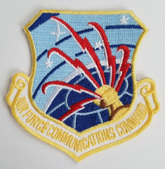 AIR FORCE COMMUNICATIONS COMMAND MILITARY PATCH