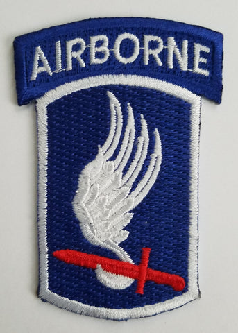173rd AIRBORNE DIVISION ARMY MILITARY PATCH