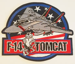 F-14 Fighter Jet Navy Tomcat Military Patch