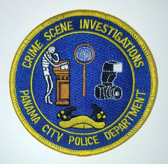 CSI Panama City Police Patch