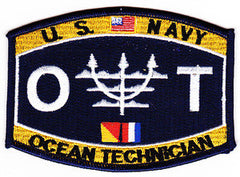 United States NAVY Technical Specialist Rating Ocean Technician Military Patch OT