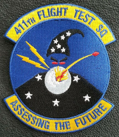 411th Flight Test Squadron - Assessing the  Future - Edwards AFB Patch