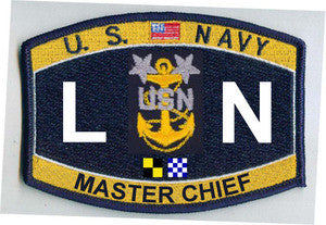 United States Navy Deck Rating Master Chief Legalman Military Patch LNCM