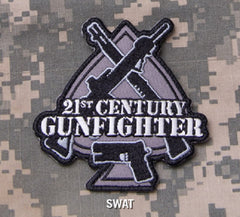 21st CENTURY GUNFIGHTER SPADE TACTICAL COMBAT BADGE - SWAT