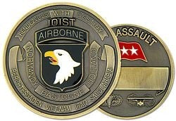 101st Airborne Division AIR ASSAULT Challenge Coin