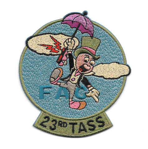 23rd Tactical Air Support Squadron 23rd TASS Patch