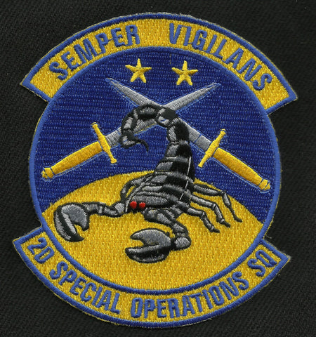 2nd Special Operations Squadron 2D SOS USAF Military Patch
