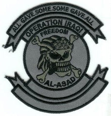 ALL GAVE SOME SOME GAVE ALL AL ASAD IRAQ PATCH