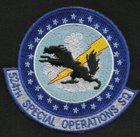 524th Special Operations Squadron Military Patch - 524th SOS