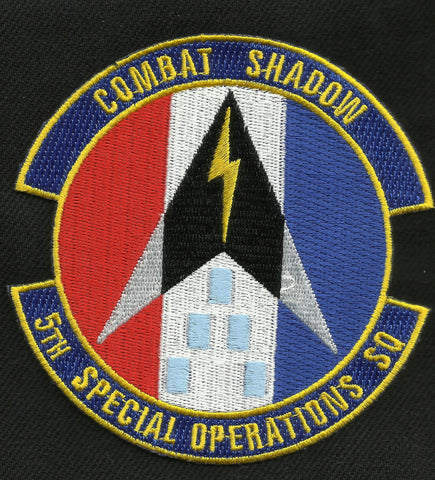 5th Special Operations Squadron SOS Military Patch COMBAT SHADOW