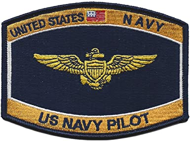 US Navy Pilot Navy Ratings MOS Hat Patch