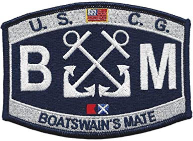 Boatswain's Mate BM USCG Patch