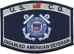 Disabled American Veteran USCG DAV Military Patch