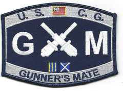 Gunner's Mate GM USCG Patch