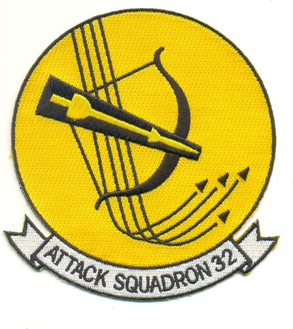VA-32 Attack Squadron Navy Military Patch