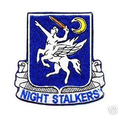 ARMY 160th Special Operations Aviation Regiment 101st Airbrone Division Military Patch NIGHT SALKERS DIVISION
