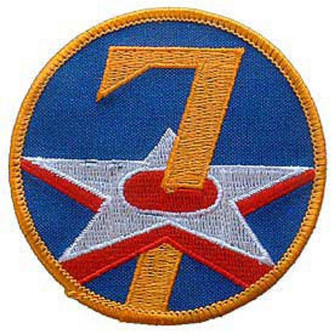 7th AIR FORCE MILITARY PATCH
