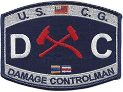 Damage Controlman DC USCG Patch