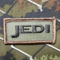 JEDI TACTICAL BADGE MORALE VELCRO PATCH - FOREST