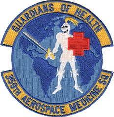 359th Aerospace Medicine Squadron Air Force MILITARY PATCH