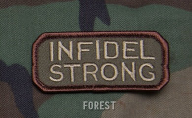 INFIDEL STRONG Hook Backing Patch - Forest