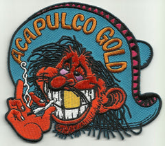 ACAPULCO GOLD MR RED EYES BIKER PATCH