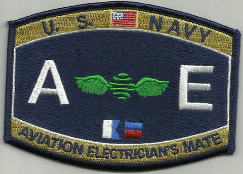 United States Navy AVIATION ELECTRICIAN'S MATE Military Patch