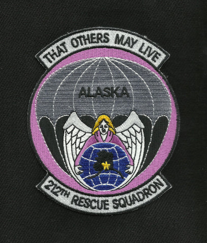 212th RESCUE SQUADRON ALASKA MILITARY PATCH - THAT OTHERS MAY LIVE