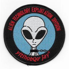 AREA 51 Alien Technology Exploitation Division CIA GROOM LAKE Patch