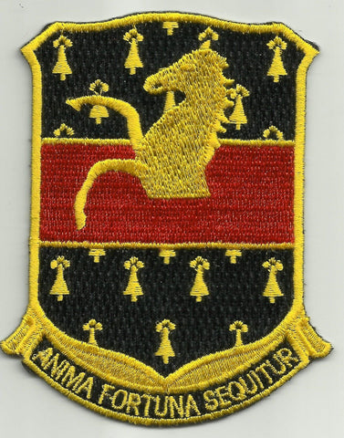 ARMY - 309th CAVALRY REGIMENT MILITARY PATCH - ANIMA FORTUNA SEQUITUR