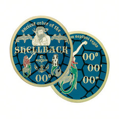 ANCIENT ORDER OF THE SHELLBACK Challenge Coin