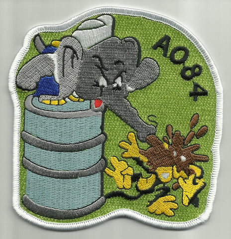 AO 84 USS OCKLAWAHA REPLENISHMENT OILER MILITARY PATCH