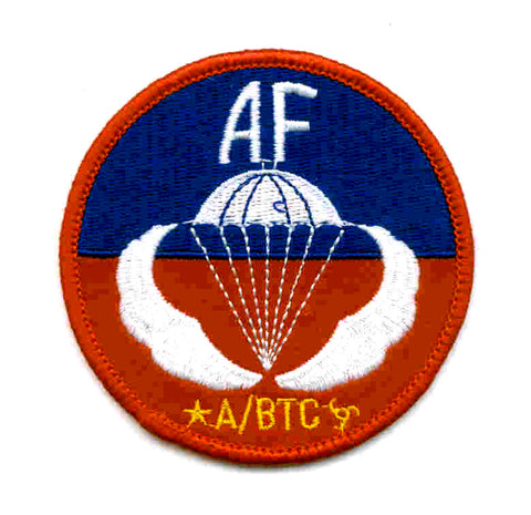 Army Airborne Jump School Sicily Military Patch AF A/BTC
